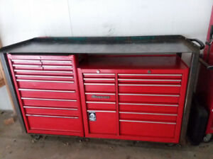Snap-on tool box and tools!
