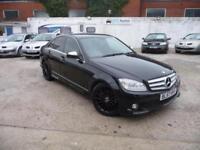 2007 (57) Mercedes-Benz C220 2.1TD CDI Sport, LONG MOT, AMG ALLOYS, CRUISE