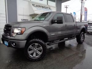 2013 Ford F-150 FX4 Crew 6.5 Box, 6 Inch LIFT!! 35 Inch Tires!!