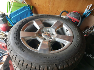 Silverado tires for sale!
