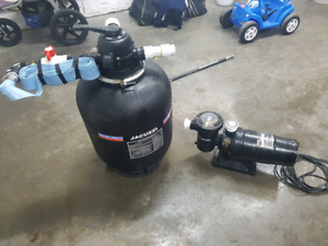Jacuzzi Pool Pump and Filter