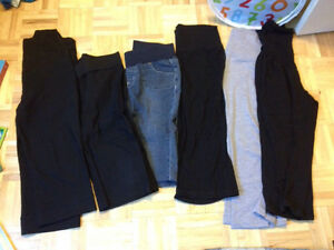 Maternity capris (cropped pant) lot