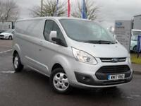 2017 Ford Transit Custom 290 LWB 2.0 Tdci Limited 130PS Diesel silver Manual