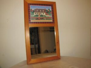 MIRROR WITH CAPE COD PICTURE