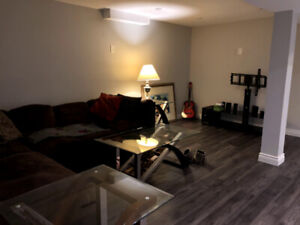 Large Basement Bachelor in Pickering  L1V 6W5