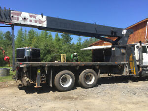 Camion fleche/Boom truck