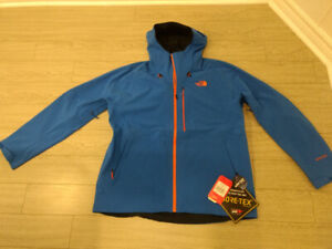 The North Face Apex Flex GTX 2.0 water/wind proof jacket.