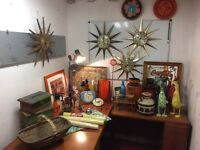 Job lot of retro vintage decoration