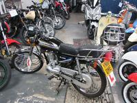 BROS A125cc. Manufacturer Baotian CG 125