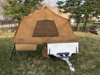 Motorcycle or Small Car Tent Trailer