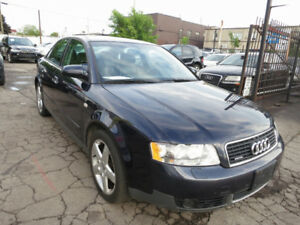 2003 Audi A4 1.8T Quattro - Low Kms, Accident Free, A1