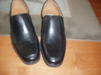 GEOX RESPIRA MENS SHOES SIZE 9 BLACK