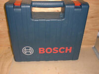 BOSCH DRILL CARRYING CASE