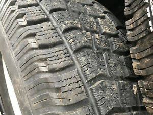 Chevy aluminum rims with winter tires Kitchener / Waterloo Kitchener Area image 2