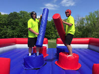 GLADIATOR JOUST ARENA RENTAL,KID AND ADULT FUN,BIRTHDAYS & MORE!