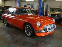 1981 MG B GT 48,000 Genuine Miles From New,