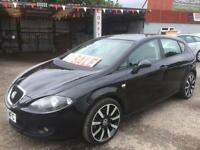 SEAT LEON 2.0 FSI (2006 06 REG) REFERENCE SPORT NEW SHAPE BLACK