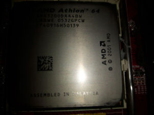 AMD Athlon 64 CPU