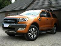 2017 Ford Ranger 3.2 TDCi Wildtrak Double Cab Pickup Auto 4WD 4dr (EU6) Pick Up