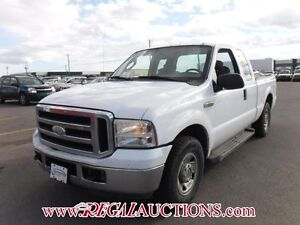 2007 FORD F250SD  2WD XLT SUPERCAB