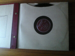 VINTAGE RECORD ALBUM COLLECTIONS 78s