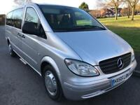 MERCEDES BENZ VITO 111 2.2 CDI EXTRA LWB AUTOMATIC (2006) WITH ELECTRIC RAMP