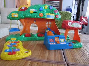 Modules de découverte et d'amusement pour enfants entre 1 et 5