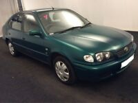 2001 Y REG TOYOTA COROLLA VVTI GS 1.4 PETROL 5 DOOR HATCHBACK TAX & TESTED ***BARGAIN***
