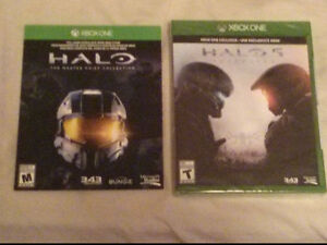 Halo 5 Guardians and Halo: Master Chief Collection Peterborough Peterborough Area image 1
