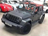 2014 Jeep Wrangler 2.8 CRD Sahara 4x4 4dr