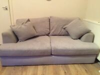 Next grey 2 seater sofa