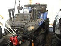 2012 Polaris 850 XP Blue Fire. Only 700 kms. Many upgrades
