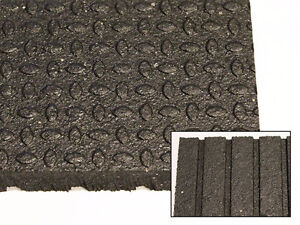 "NEW! High Quality 4' x 6' x 3/4"" Rubber Mats"