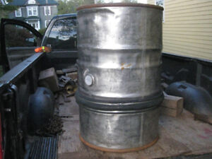 45 gal. stainless steel barrel