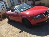 Audi A4 sport convertible 2.4 v6 may swap px read add