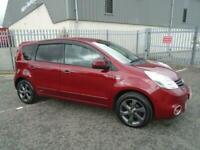 2013 Nissan Note N-TEC PLUS AUTOMATIC MPV Petrol Automatic