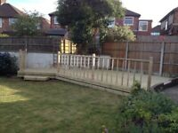 WeMake Decking & Fencing made to measure Liverpool /joiner/garden fence. Better quality than B&Q