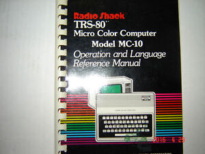 TRS-80 Micro Color Computer Antique