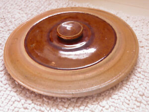 Old Pottery Lid