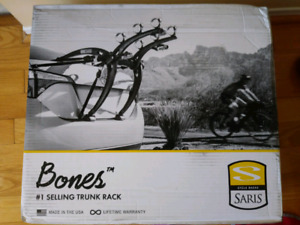 Saris Bones 3 bikes trunk rack