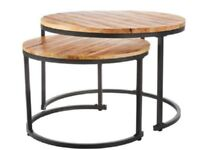 Smaller Scandinavian Coffee Table of wood modern style