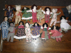 15 Folk Art Dolls Made In India Cornelloki $5ea.