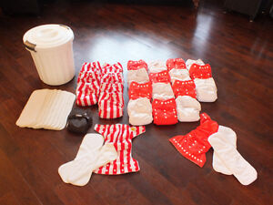 Baby clothes diapers