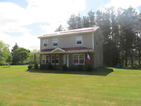 3bedroom house  for rent near ocean, 15min from Moncton