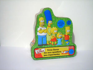 The Simpsons Collectible Tin Trivia Game
