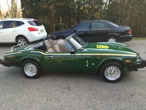 1981 Triumph Spitfire Beautifull' rust free car Mint'