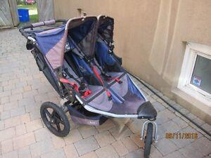 BOB Revolution Duallie SE Double Stroller