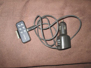 iPod car plug in