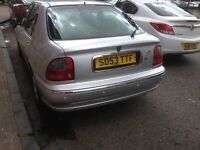 Rover 45 impression 3 only 30k