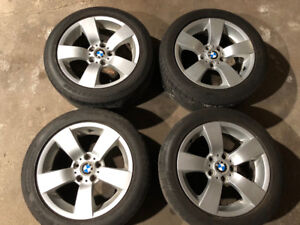 FS: Genuine BMW Wheels with 225/50/17 Tires for E60 5-Series